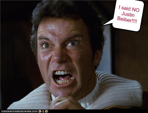 I said NO Justin Beiber!!!!