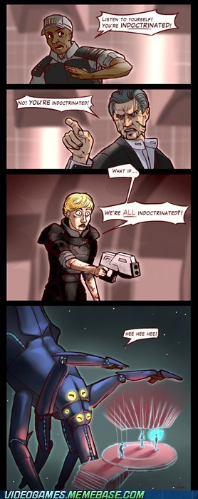 comic commander shepard indoctrination mass effect - 6114373120
