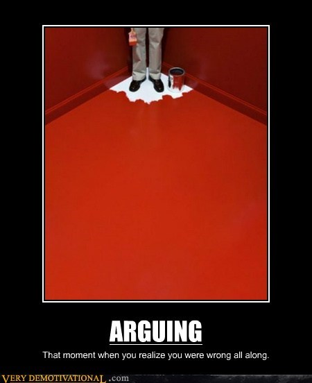 argue hilarious paint red wtf