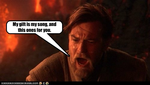 elton john,ewan mcgregor,moulin rouge,obi-wan kenobi,singing,star wars,your song