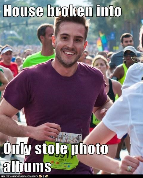 Memes,photo albums,photogenic guy,robbert,theft,value
