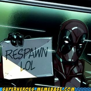 deadpool respawn Straight off the Page timer video games - 6115034624