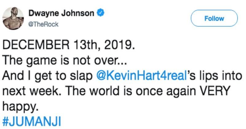 clap back twitter Dwayne Johnson spicy the rock - 6115333