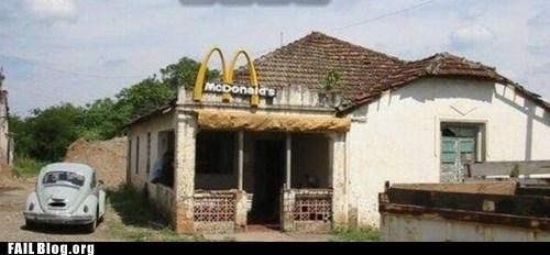 drive thru McDonald's restaurant - 6115361280