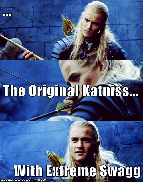 archer,bow and arrow,extreme,katniss,legolas,Lord of the Rings,orlando bloom,swag