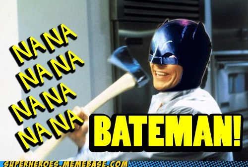 american psycho bateman batman book Super-Lols - 6115939584