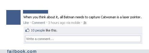 batman Cats catwoman laser pointer superheroes - 6116179456