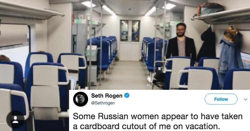 russia twitter Seth Rogen actor ridiculous funny - 6116357