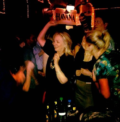 candid photo,dancing,Hillary Clinton,Photo,politics