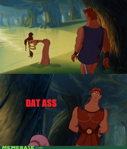 dat ass,disney,Hercules,Memes