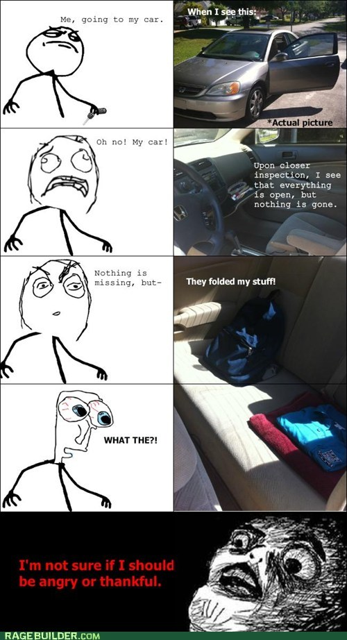 car Rage Comics raisin face wtf - 6117235456