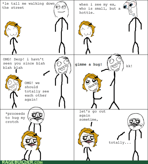 dating me gusta Rage Comics relationships short that looks naughty