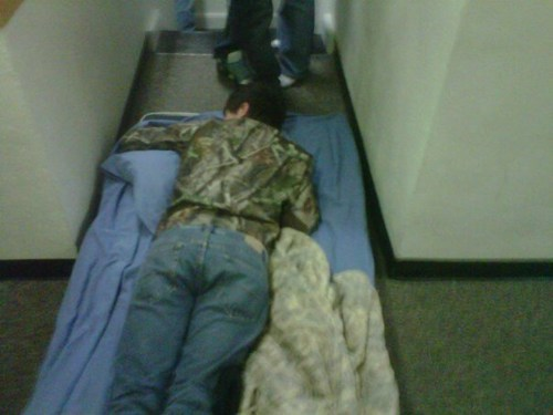 hallway,drunk,passed out,bedroom,funny,after 12