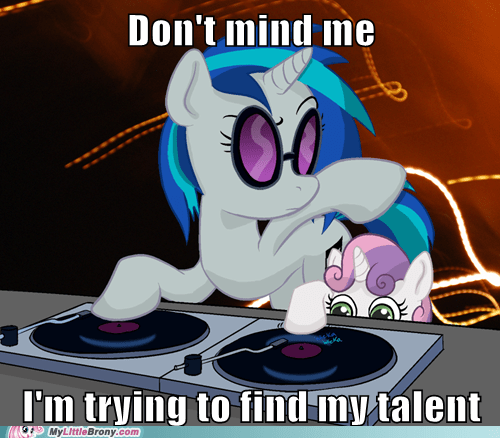 cute,cutie marks,dj PON-3,meme,Sweetie Belle,talent