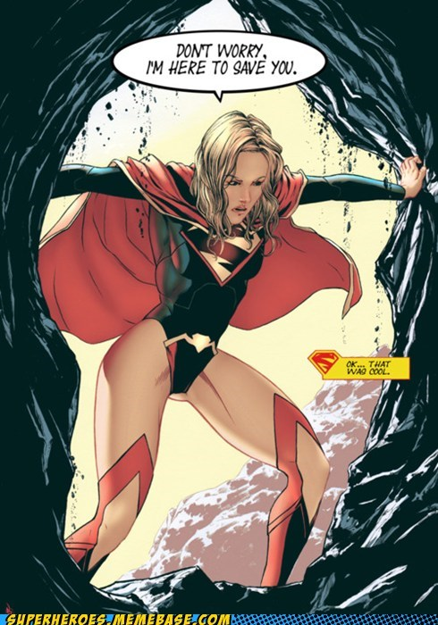 rad saved Straight off the Page supergirl - 6118860544