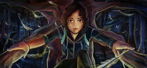 books Fan Art movies rue hunger games - 6118996992