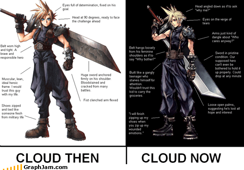best of week,cloud,final fantasy,RPG,video games