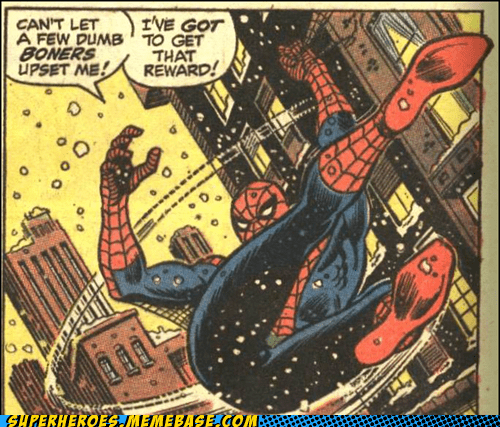 boners reward Spider-Man Straight off the Page wtf - 6119688448