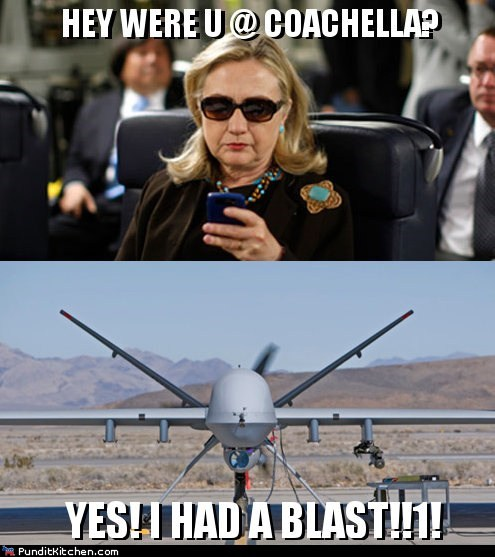 drone Hillary Clinton political pictures texts from hillary - 6119699968