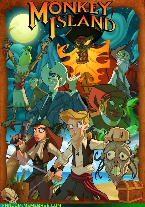Fan Art,monkey island,video games