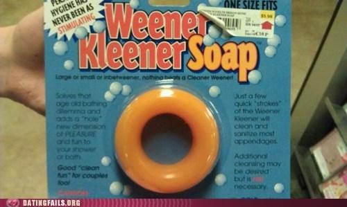 dating fails genitalia soap hygiene male hygiene weener kleener - 6120158464