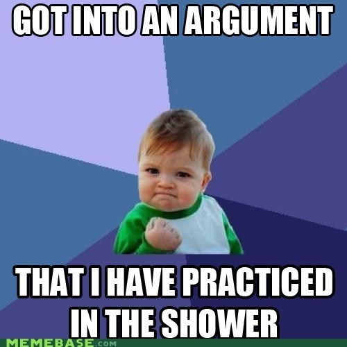 argument hypothesis practice shower success kid - 6120214016