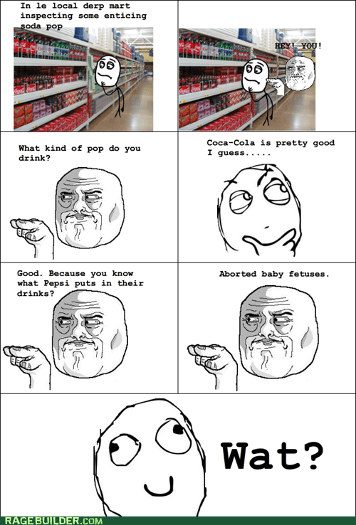 coke im-watching-you pepsi Rage Comics wtf - 6120446976