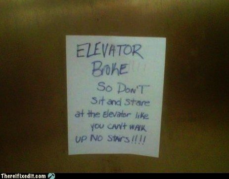 elevator note stairs - 6120514816