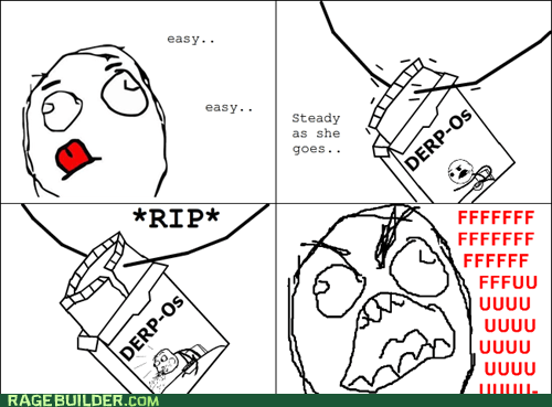 cereal fu guy noms Rage Comics rip - 6120518400
