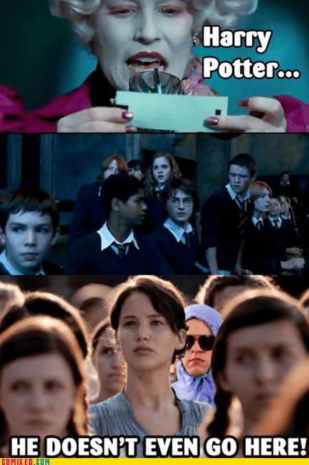 best of week From the Movies Harry Potter hunger games katniss - 6120583936