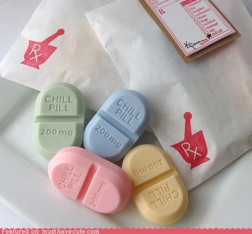 chill pill Pastel pill soap - 6120676352