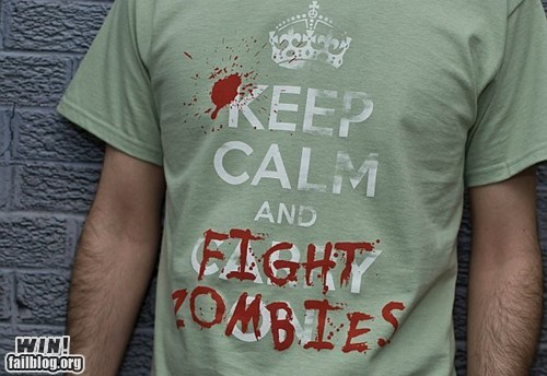 keep calm nerdgasm shirt zombie - 6120702976