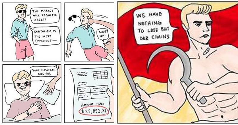 web comic about the perils of communism for all of us