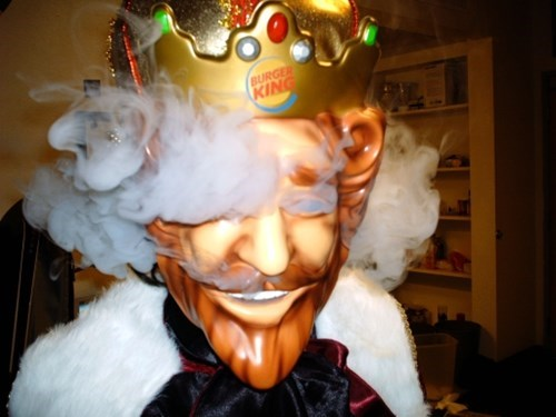 bk,burger king,the king,wake n bake,wake up with the king