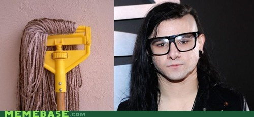 best of week dubstep mop skrillex hair weird kid - 6120880128