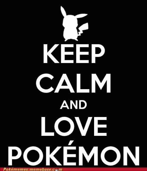 keep calm meme Memes pikachu Pokémon - 6120933632
