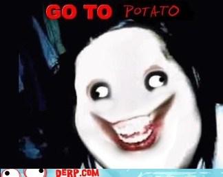 creepy pasta derp jeff the killer potato - 6121125120