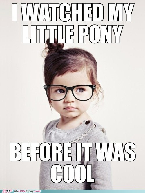 demographic,hipster,little girls,meme,my little pony