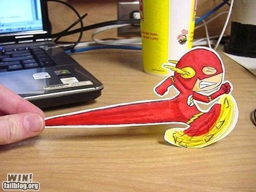 clever design flash super heroes - 6121299456
