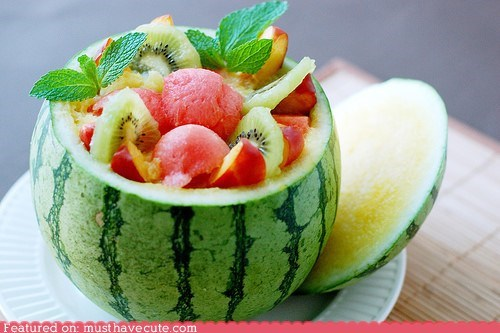 bowl epicute fresh fruit melon salad - 6121391104