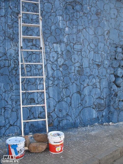 Blu crowd hacked irl Street Art - 6121455360