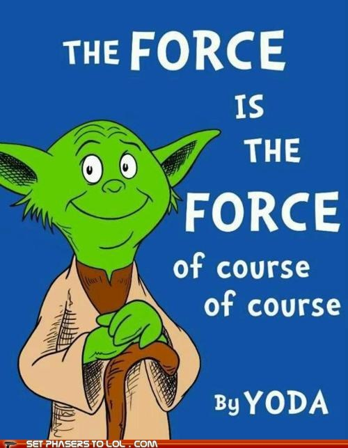 best of the week childrens book dr seuss of course rhyming the force yoda - 6121680896
