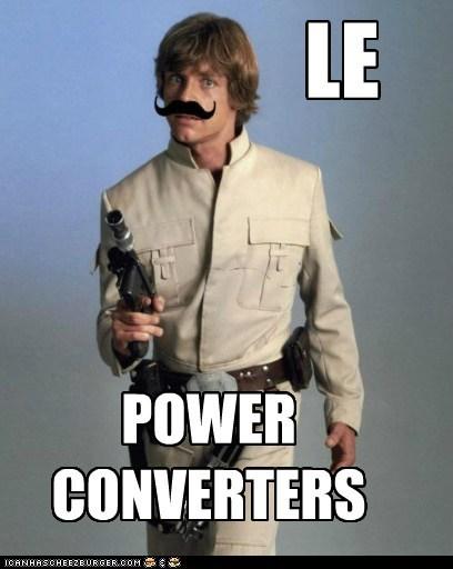french le luke skywalker mark hamil moustache power converter star wars - 6121991168