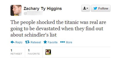 titanic movies schindlers-list nonfiction - 6122195456