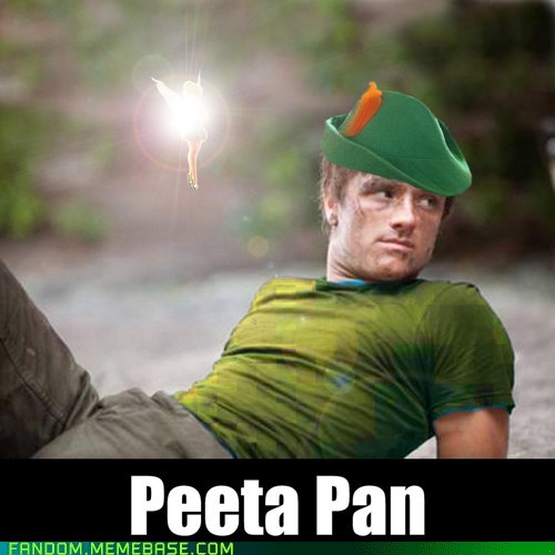 best of week books crossover It Came From the Interwebz movies peeta peter pan hunger games - 6122588672