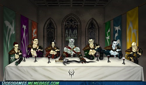 crossover legacy of kain meme the last supper - 6122601984