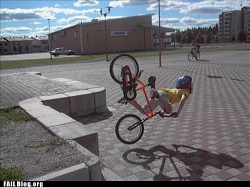bike,FAIL,perfectly timed,prefail