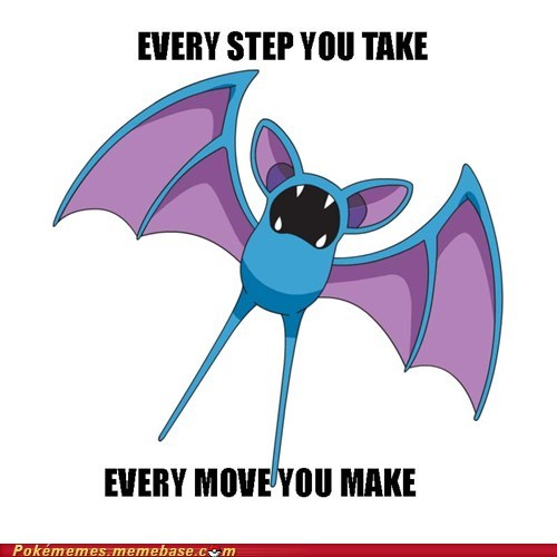 annoying,every step you take,meme,Memes,Music,the plice,zubat