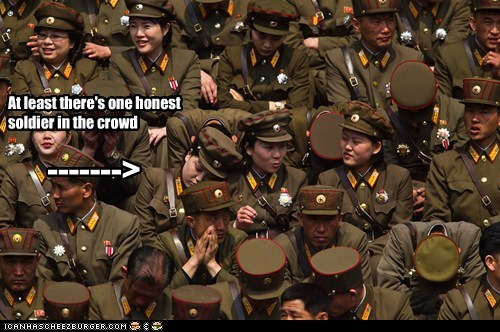 North Korea political pictures soldiers - 6122942464