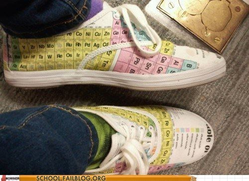 cheating on tests,Chemistry,periodic table